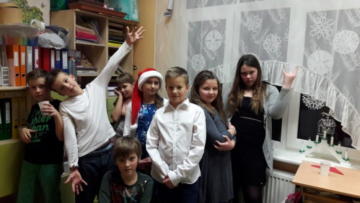Ziemassvētku pasākums 4. klasei