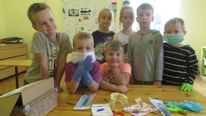 Zobārsta profesijas iepazīšana pirmsskolā