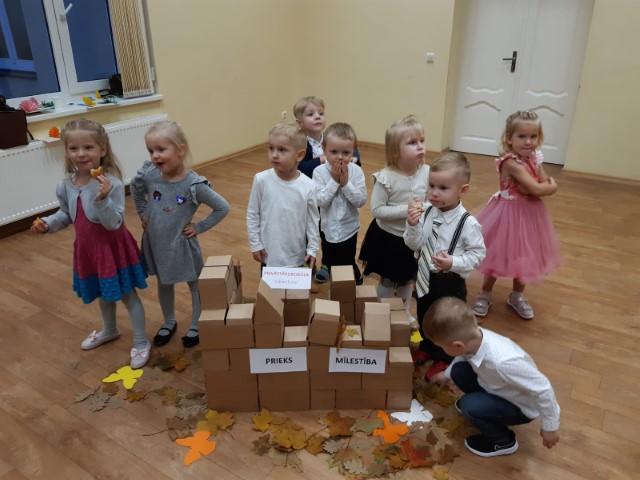 """Skolas dzimšanas diena """"Mārītes"""" grupai"""