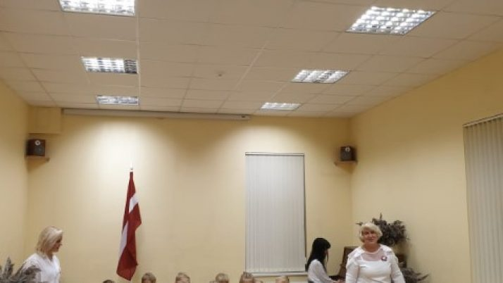 """Latvijas dzimšanas dienas godināšana """"Mārītes"""" grupā"""