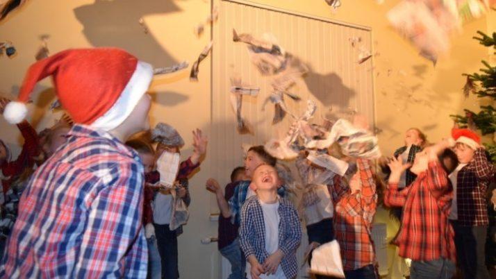 1. – 3. klašu skolēnu Ziemassvētku pasākums