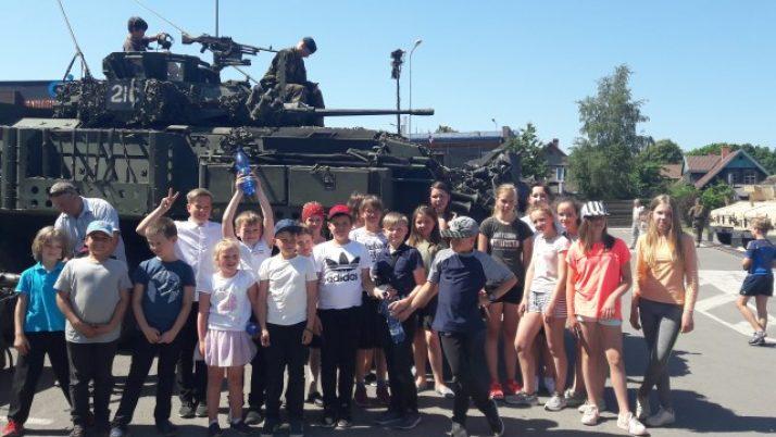 Armijas ekipējumu izstāde