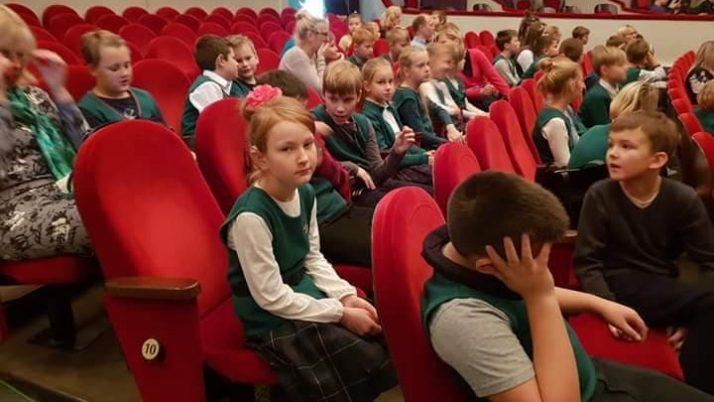 """Mūsu skolas aktivitātes projektā """"Latvijas skolas soma"""" 1. semestrī"""