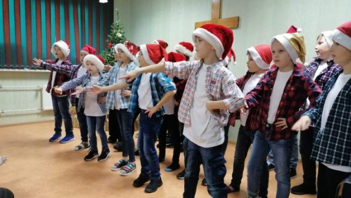 Ziemassvētku ieskaņas koncerts Veco ļaužu dzīvojamā mājā